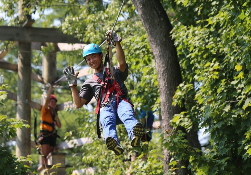 Zip-timber-lake-zip-line-camping-adventure-huntington-roanoke-fort-wayne-indiana