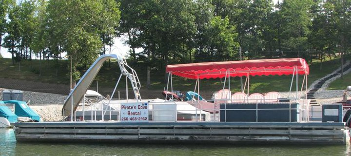 party-barge-boat-rental-pirates-cove-salamonie-lake-indiana